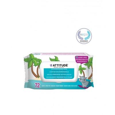 Lingettes pour bébé 100% biodégradables (72)